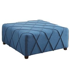 !nspire Cocktail Ottoman with 4 Matching Pillows