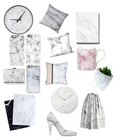 """""""Marble"""" by kellyprovines ❤ liked on Polyvore featuring Dear Maison, Bloomingville, Gary Birks Design, Casetify, Zero Gravity, Balenciaga, Chicwish, Charlotte Olympia and Menu"""