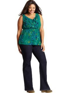 Women's Plus Size Clothes: Jean Outfits | Old Navy