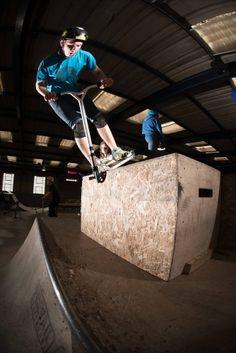 Grit Academy rider Ben Hall - credit Sam Cooper