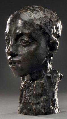 Camille Claudel - Etude pour la tête d'Hamadryade, 1908
