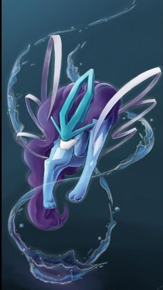 Suicune-SUICUNE(north wind) embodies the compassion of a pure spring of water. It runs across the land with gracefulness. This POKéMON has the power to purify dirty water. Pokemon Legal, Pokemon Sketch, Pokemon Dragon, Pokemon Firered, Pokemon Fan Art, Pokemon Backgrounds, Cool Pokemon Wallpapers, Cute Pokemon Wallpaper, Pokémon Mewtwo