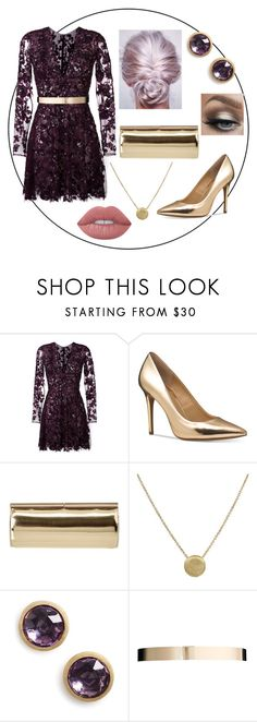 """Untitled #101"" by asena-cakmak on Polyvore featuring Zuhair Murad, Michael Kors, Jimmy Choo, Marco Bicego, ASOS and Lime Crime"