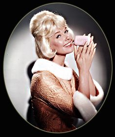 """Doris Day as the Happy Soap girl in """"The Thrill of it All"""", 1963"""