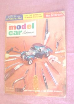 February 1966 IND Model Car Science Build Ultimate Lola Spray Paint Booth Tools for Slot Racers Photos Illustrations Cartoon Reader Copy BIN by HerOptionsforYou on Etsy