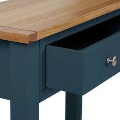 Bromley Blue Console Table | Dunelm