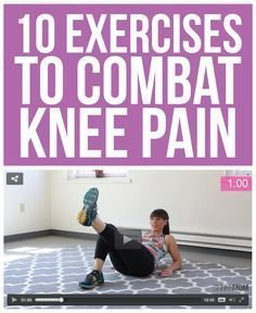 10 moves for healthier knees.