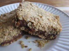 Date Bar Cookies Recipe (an edible mosaic)