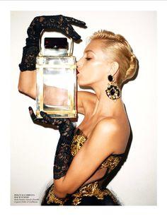 Vapeurs De Chic   Anja Rubik   Terry Richardson #photography   Vogue Paris November 2012