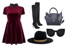 """""""Untitled #1"""" by edina-mustafic ❤ liked on Polyvore featuring Miss Selfridge, Handle, Janessa Leone and Delalle"""