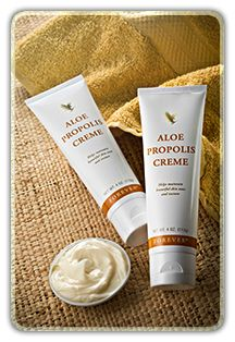 Forever Living Aloe and Bee Propolis Creme is great for very rough dry skin, cradle cap, sunburn and more!  Shop online at www.gerborah-forever.myforever.biz/store