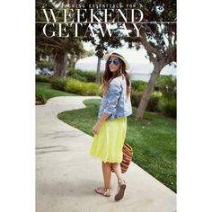Packing Essentials for A Weekend Getaway ❤ liked on Polyvore