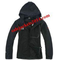 Women North Face Gore Tex XCR Black Jackets
