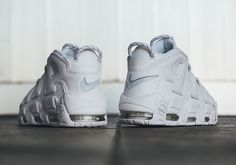 """The Nike Uptempo """"Triple White"""" Pack Releases This Friday Page 2 of 3 - SneakerNews.com"""