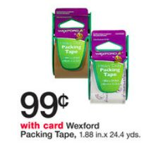 Wexford Packing Tape Just $0.50 at Walgreens