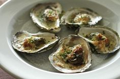 Bryan Picard with a delicious recipe for baked oysters with chive butter and aïoli.