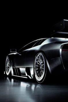 ♂  cars wheels Lamborghini Murcielago RGT black