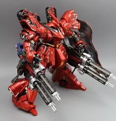 GUNDAM GUY: MG 1/100 Sazabi Ver Ka - Customized Build