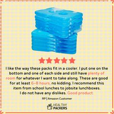 Professional Work Lunch Bag for Men and Women Healthy Packers Insulated Lunch Box for Adults and Kids w// 2 Slim Long Lasting Ice Packs Heavy Duty School Lunchbox for Boys and Girls Black