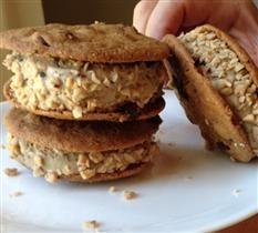 Barefoot Contessa - Recipes - Coffee Chocolate Chip Ice Cream Sandwiches