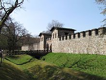Reconstruction of ancient Roman fort just south of the Limes Germanicusat Saalburg In the first century A.D., after a series of military campaigns, the Romans were able to conquer what is now most of western and southern Germany from the Germanic and Celtic tribes living there.