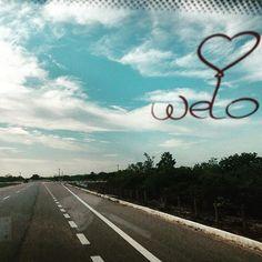 Seja onde estivermos, procuramos nos lembrar de repassar sentimentos bons.  #spreadwelo #spreadlove #welo