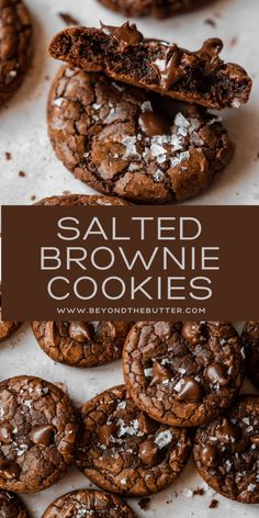 Baking Recipes, Dessert Recipes, Dinner Recipes, Cake Pops, Delicious Desserts, Yummy Food, Chocolate Brownie Cookies, Crinkle Cookies, Candy Cookies