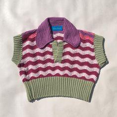 Mode Crochet, Diy Crochet, Crochet Crafts, Hand Crochet, Crochet Projects, Crochet Crop Top, Knit Fashion, Crochet Clothes, Crochet Skirts