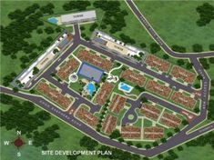 (Site Development Plan) - A welcoming Grand Fountain setting a romantic and dreamy ambiance and providing a calming effect, as you enter the subdivision. Site Development Plan, Bay Area Housing, Studio 24, Pensacola Fl, Cebu City, Condos For Sale, Condominium, Home Buying, Philippines