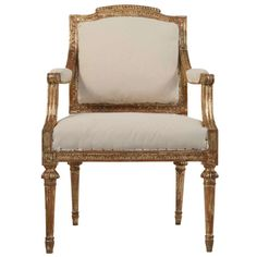 Gustavian Armchair by Lundberg | From a unique collection of antique and modern armchairs at http://www.1stdibs.com/furniture/seating/armchairs/