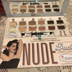 The Balm Nude Dude The Balm Nude Dude Volume 2.New in the box.Never used Makeup Eyeshadow
