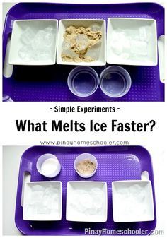 Simple Experiment: What Makes Ice Melt Faster?