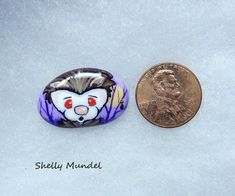 Original Ferret Painting, Whimsy Weasel Stone, Halloween Art- Shelly Mundel #IllustrationArt Halloween Art, Ferret, Original Artwork, Cufflinks, Illustration Art, The Originals, Stone, Painting, Accessories