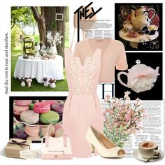 Bridal Luncheon, Tea, Church,..., created by forgiven78 on Polyvore