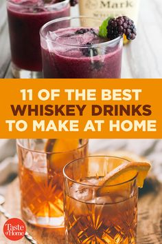 Cocktail juju way - Clean Eating Snacks Good Whiskey Drinks, Whiskey Cocktails, Cocktail Drinks, Yummy Drinks, Alcoholic Drinks, Best Drinks, Bourbon Drinks, Beverages, Fall Drinks