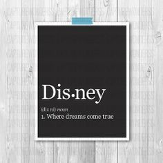 lovedyouatonce-onceuponadream:  disneygoesevil:  Disney DefinitionAvailable on Etsy!  Need