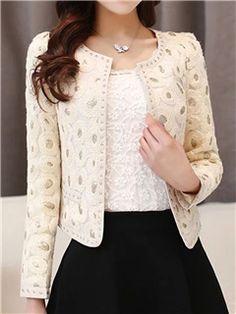 Classic and elegant blazer in powdery pink from VERO MODA. Blazer Fashion, Hijab Fashion, Girl Fashion, Fashion Dresses, Fashion Looks, Fashion Shirts, Emo Fashion, Stylish Dress Designs, Stylish Dresses