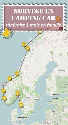Norvège en camping-car et en famille - New Ideas Aire Camping Car, Lake Camping, Camping Packing, Camping Theme, Camping Checklist, Road Trip Europe, Road Trip Destinations, Road Trips, Road Trip With Kids