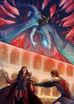 Battle of Farthen Dur by Ticcy.deviantart.com on @DeviantArt