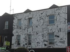 Wall Designs In Camden Town