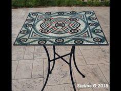 Making mosaic tables