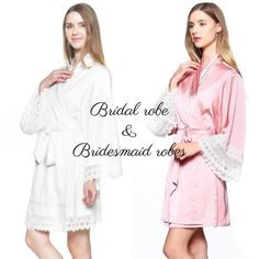 Free Shipping / Set Of 4 Bridesmaid Robes for by loveandpeony