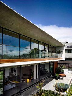 Casa de concreto por Matt Gibson