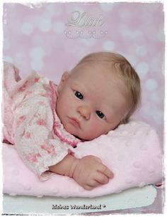 Lilith by Heike Kolpin - Online Store - City of Reborn Angels Supplier of Reborn Doll Kits and Supplies