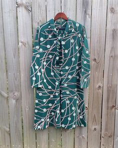 L XL Extra Large Volup Vintage 60s 70s Henry by PinkCheetahVintage, $23.99