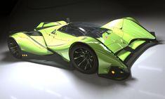 Concept LMP1 Race Car