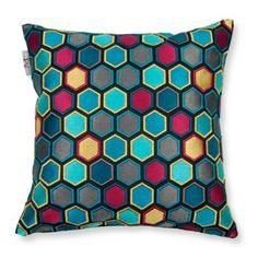 "Madura Honey Decorative Pillow Cover, 16"" x 16"" 