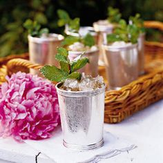 Classic Mint Julep | #KentuckyDerby | SouthernLiving.com
