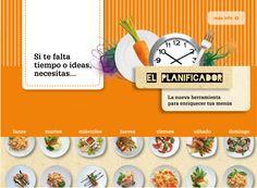 Mamá, estudiante y ama de casa (a la vez): Planificador menús on line
