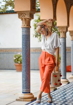 outfit: Orient in Berlin & Wenn ich reich wäre – nachgesternistvormorgen Fashion Weeks, Zara, Fashion Bloggers, Berlin, Capri Pants, Group, Ideas, Nice Outfits, Outfit Ideas